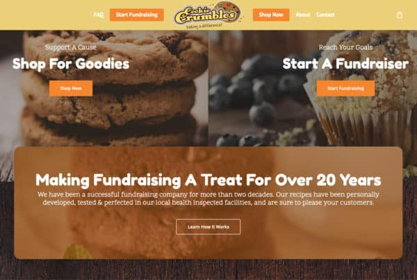 Cookie Crumbles Fundraising